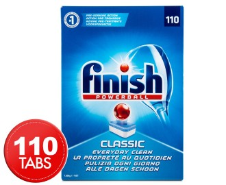 NAMEFINISH CLASSIC DISHWASHER TABS - PK110